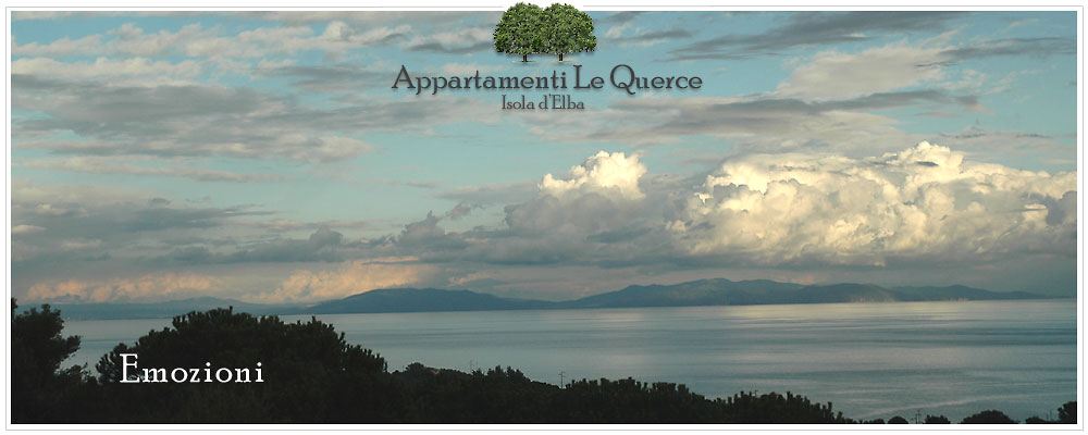 The apartments Le Querce in Capoliveri on the island of Elba are ideal for your vacation in company of your dog